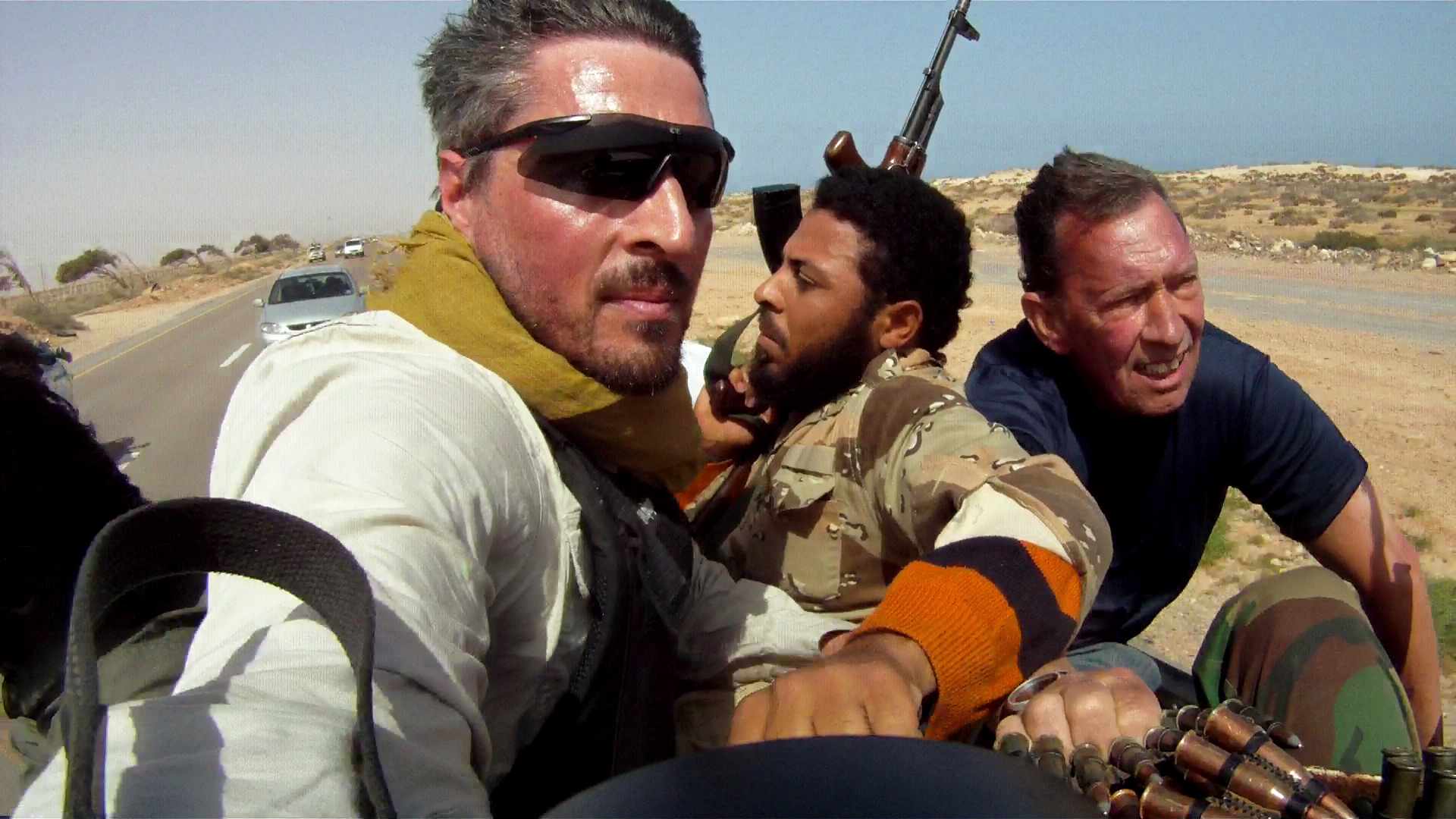 Finbarr O'Reilly in Libya